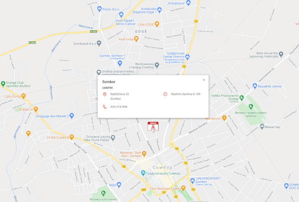 Novi distributivni centar - Sombor