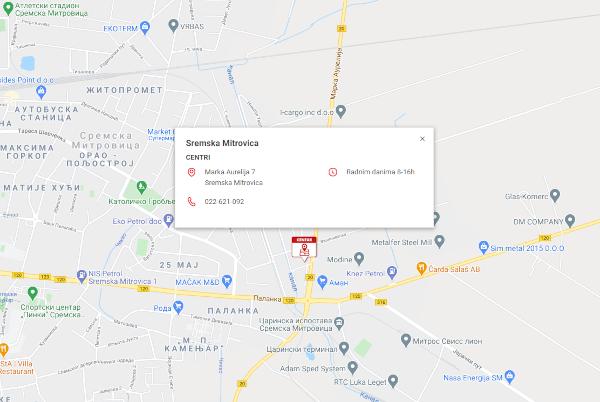 Novi distributivni centar - Sremska Mitrovica